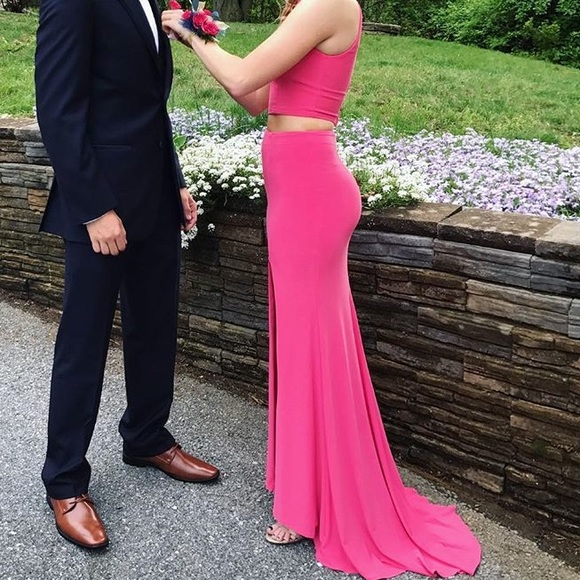 Sherri Hill Dresses | 2 Piece Prom Dress Matching Jewelry | Poshmark